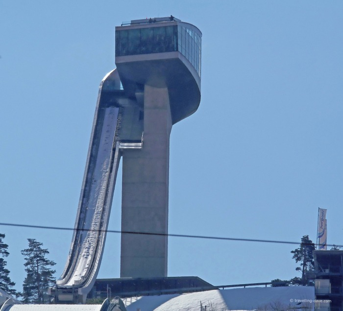 View of Innsbruck Bergisel Ski Jump