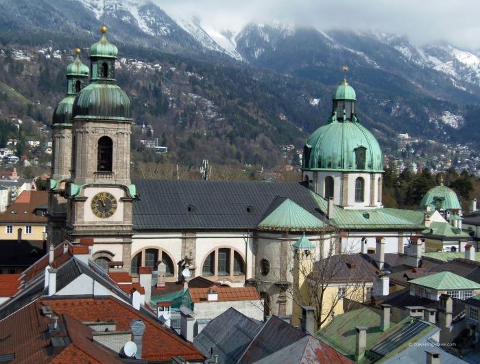 View of Innsbruck Court Church
