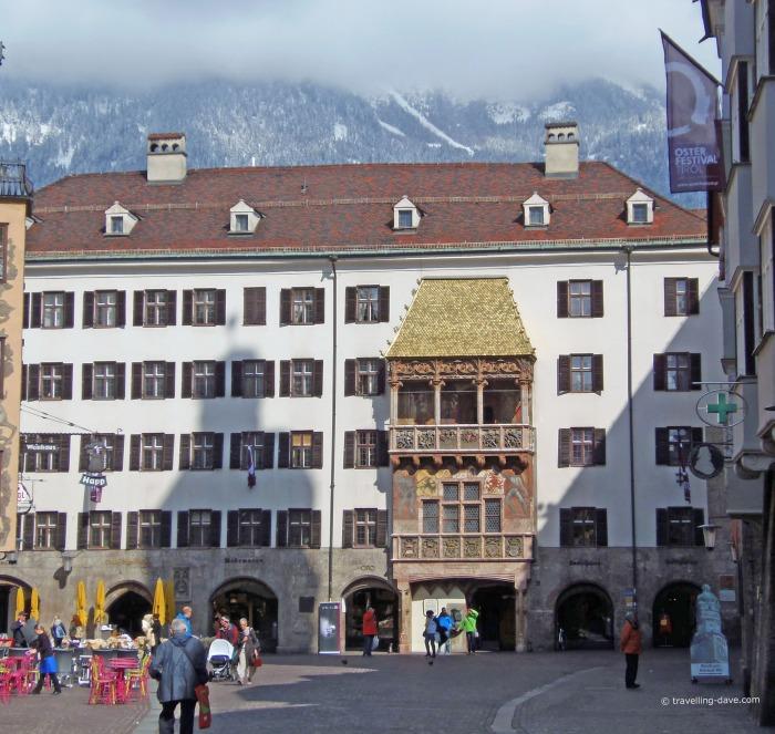 View of Innsbruck Golden Roof