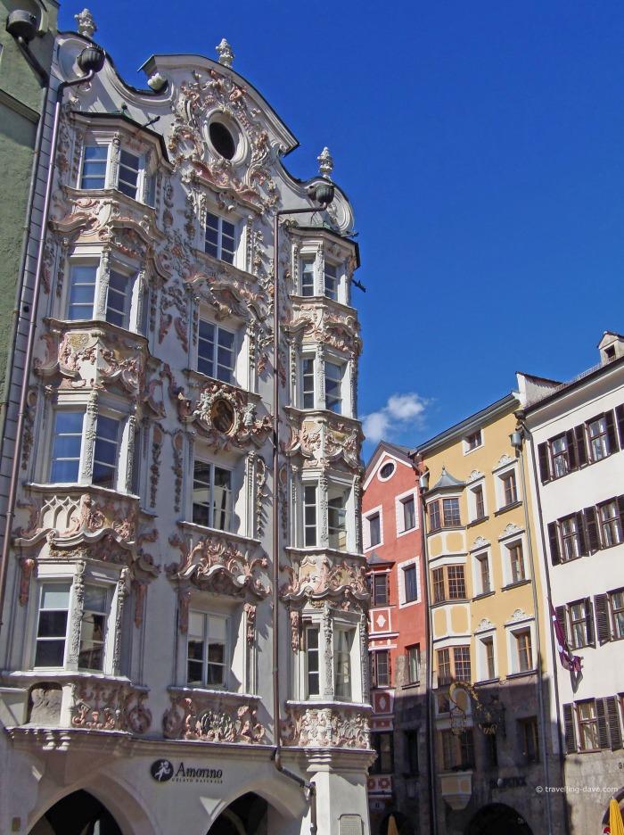 View of Innsbruck Helbling House