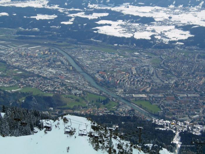 Panoramic view of Innsbruck