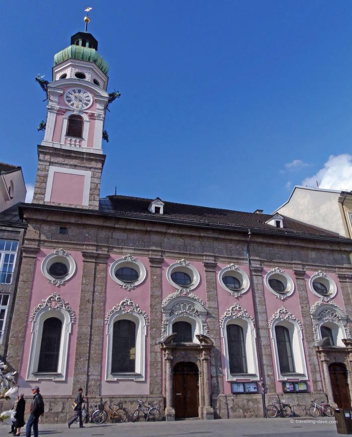 View of Innsbruck Spitalskirche