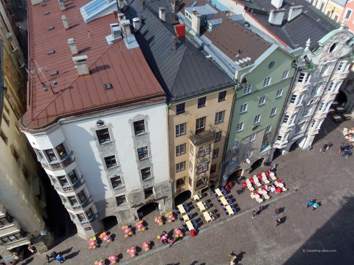 Buildings of Innsbruck Old Town
