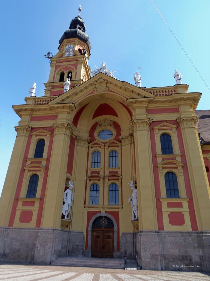 View of Innsbruck Wilten Monastery