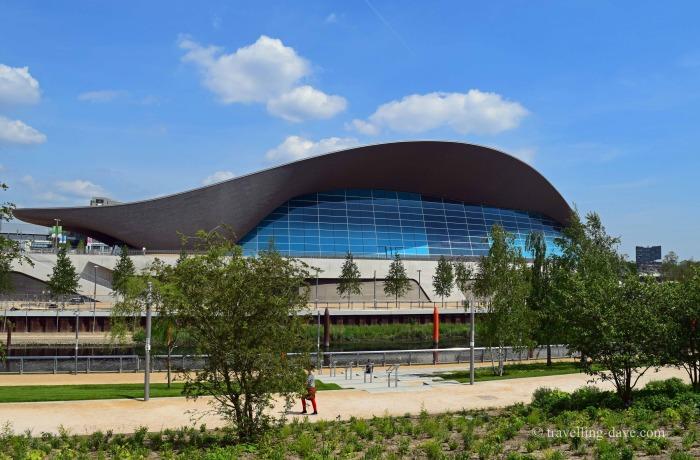 View of London Aquatics Center