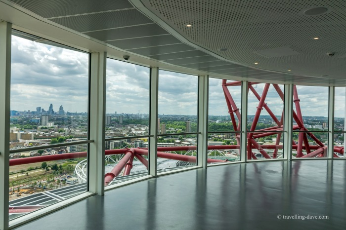 The view from London's ArcelorMittal Orbit