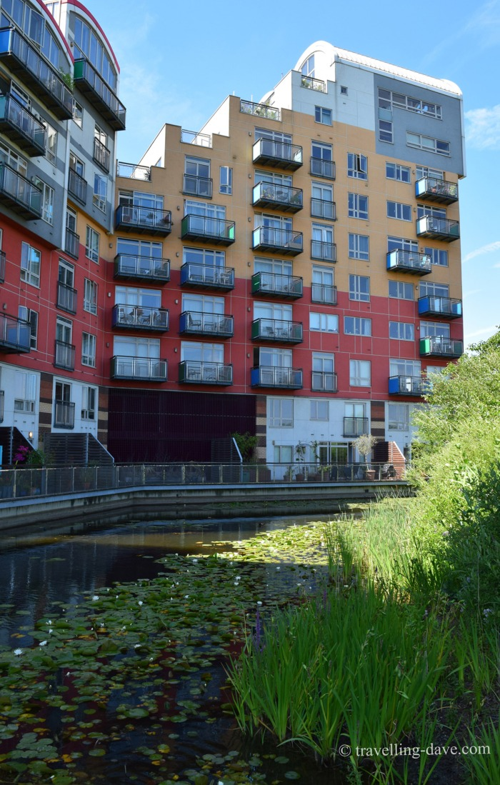 Ecology Park and Millennium Village on Greenwich Peninsula