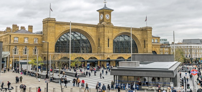 Outside view of King's Cross Station