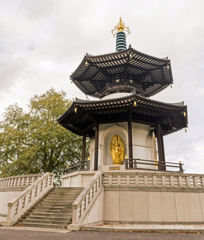 View of Battersea Park Pagoda