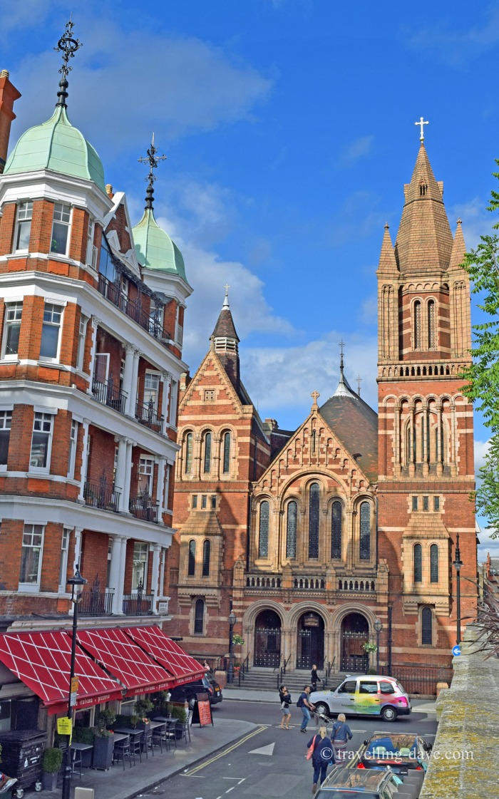 View of London's Ukrainian Cathedral