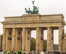 View of Berlin's Brandenburg Gate