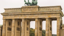 View of Berlin's Brandenburg Gate