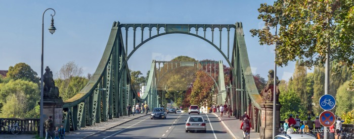 View of Potsdam's Bridge of Spies