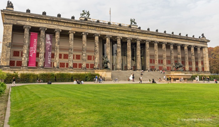 View of Berlin's Old Museum