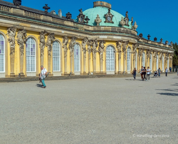 View of Potsdam's Sanssouci Palace