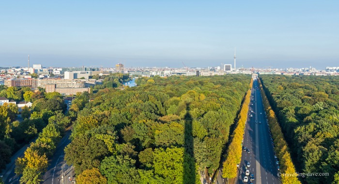View of Berlin's Tiergarten