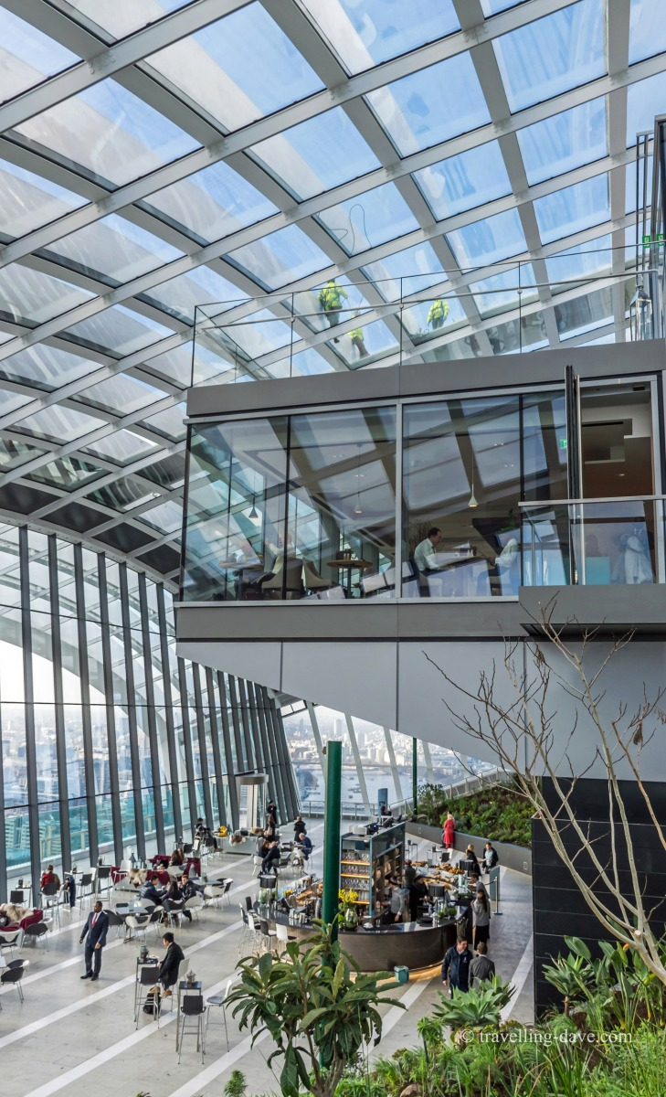 View of the glass window of Darwin Brasserie