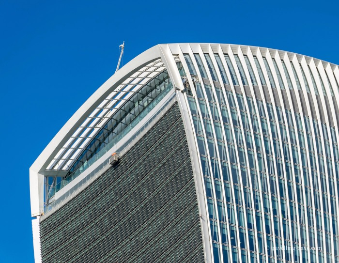 View of the outside terrace at 20 Fenchurch Street