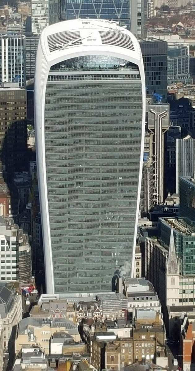 View of London's Walkie Talkie