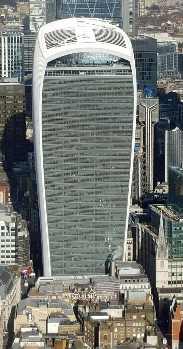 View of London's Walkie Talkie