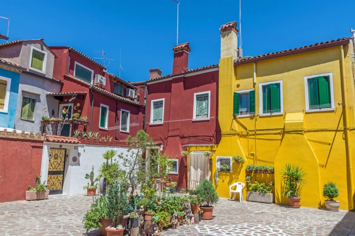 One of Burano's courtyards