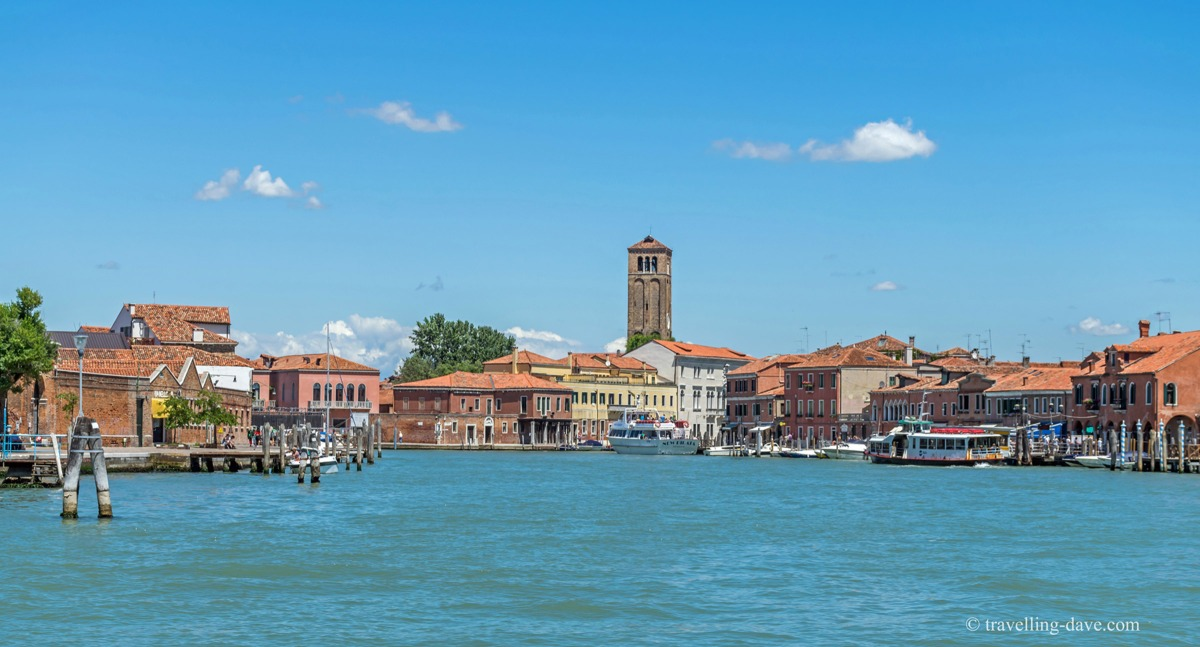 View of the church on the island of Murano