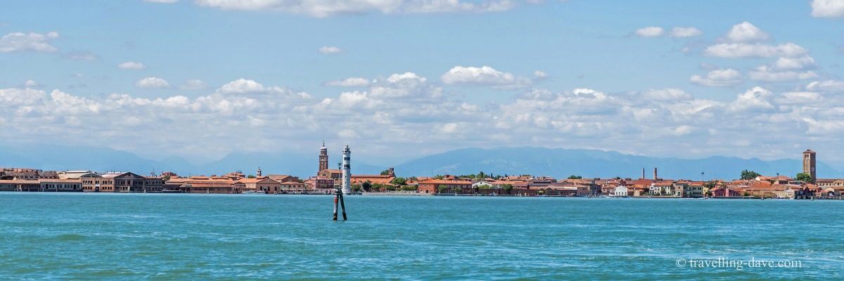 View of Murano from Venice