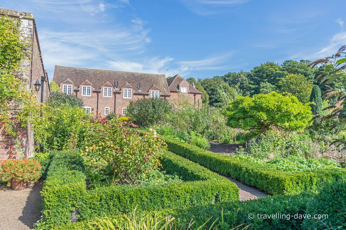 View of Leeds Castle's Culpeper Garden
