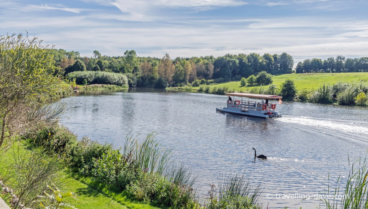 View of Leeds Castle ferry