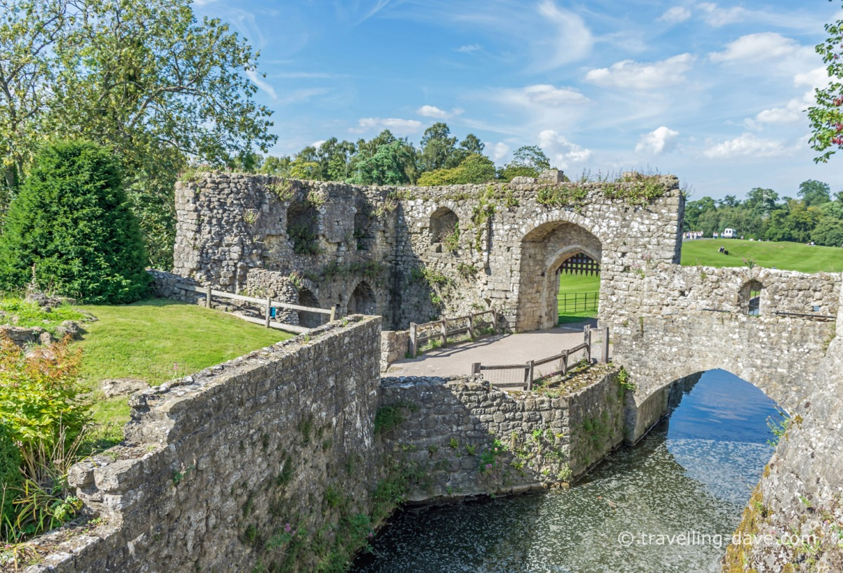 View of Leeds Castle's Fortified Mill
