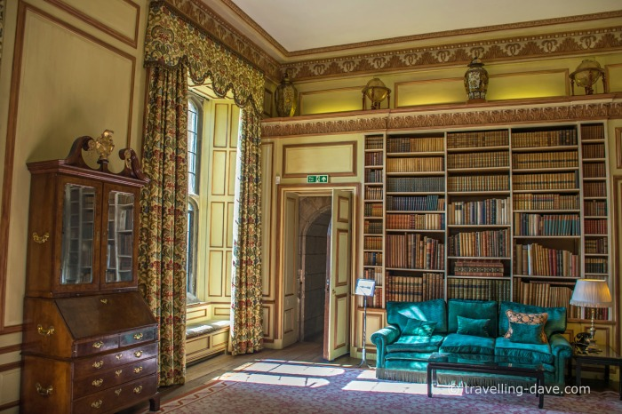View of Leeds Castle's library
