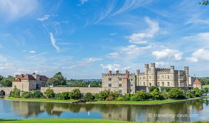 View of Leeds Castle