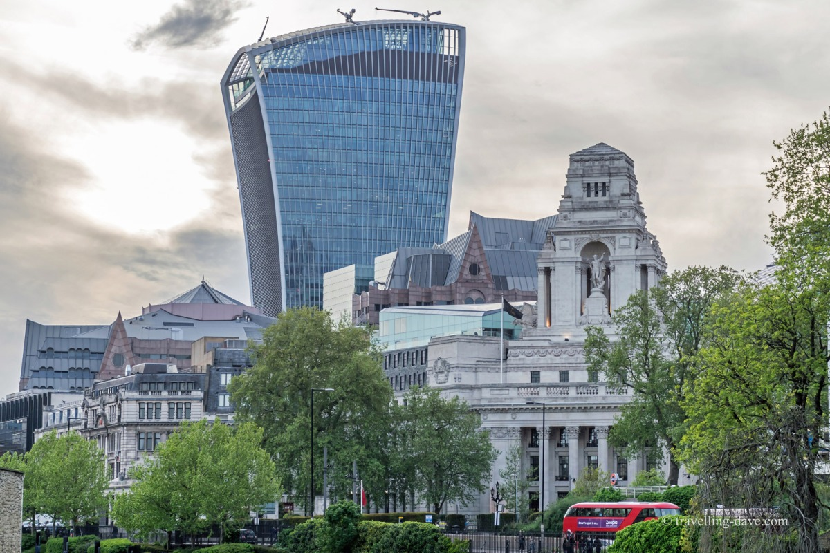 View of the 20 Fenchurch Street building
