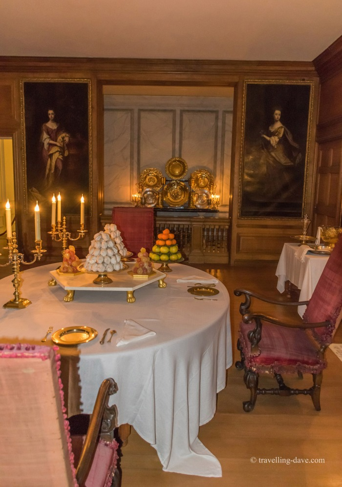 View of Hampton Court's Public Dining Room