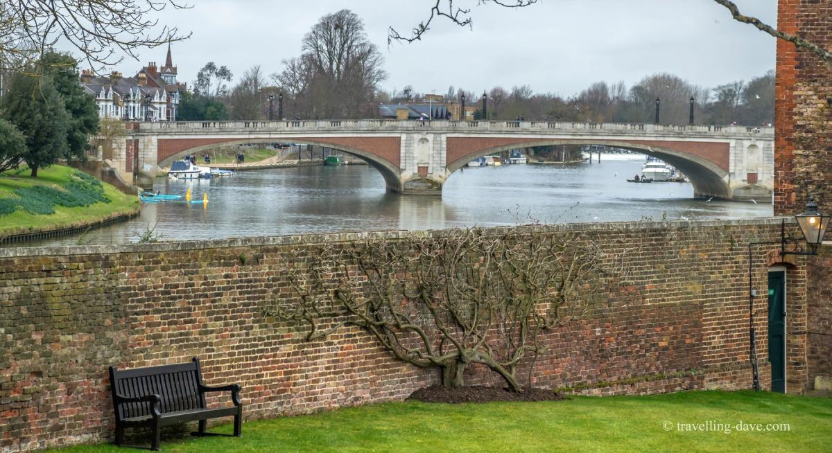 View of Hampton Court Bridge