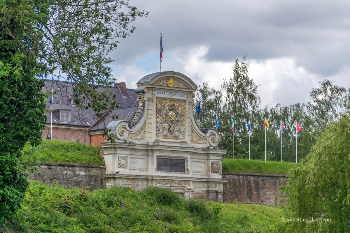 View of Lille's Citadel