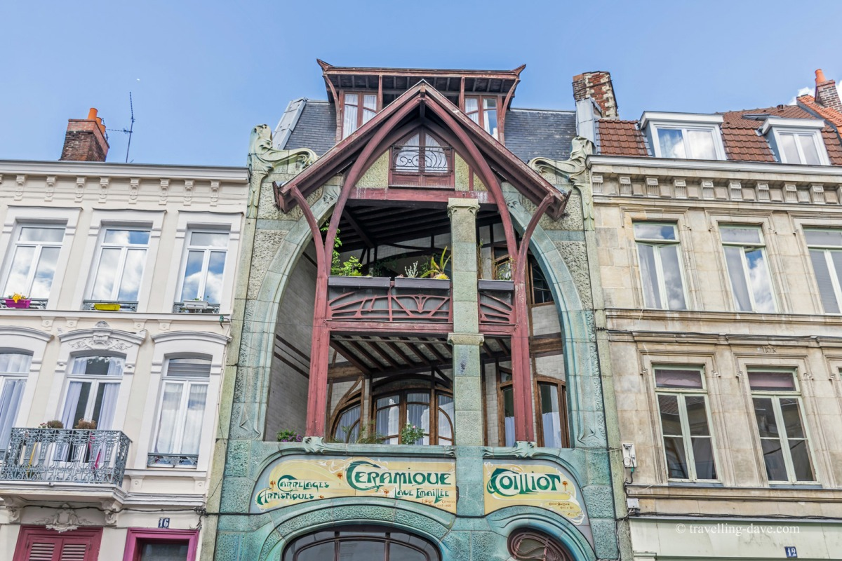 View of Lille's Maison Coilliot