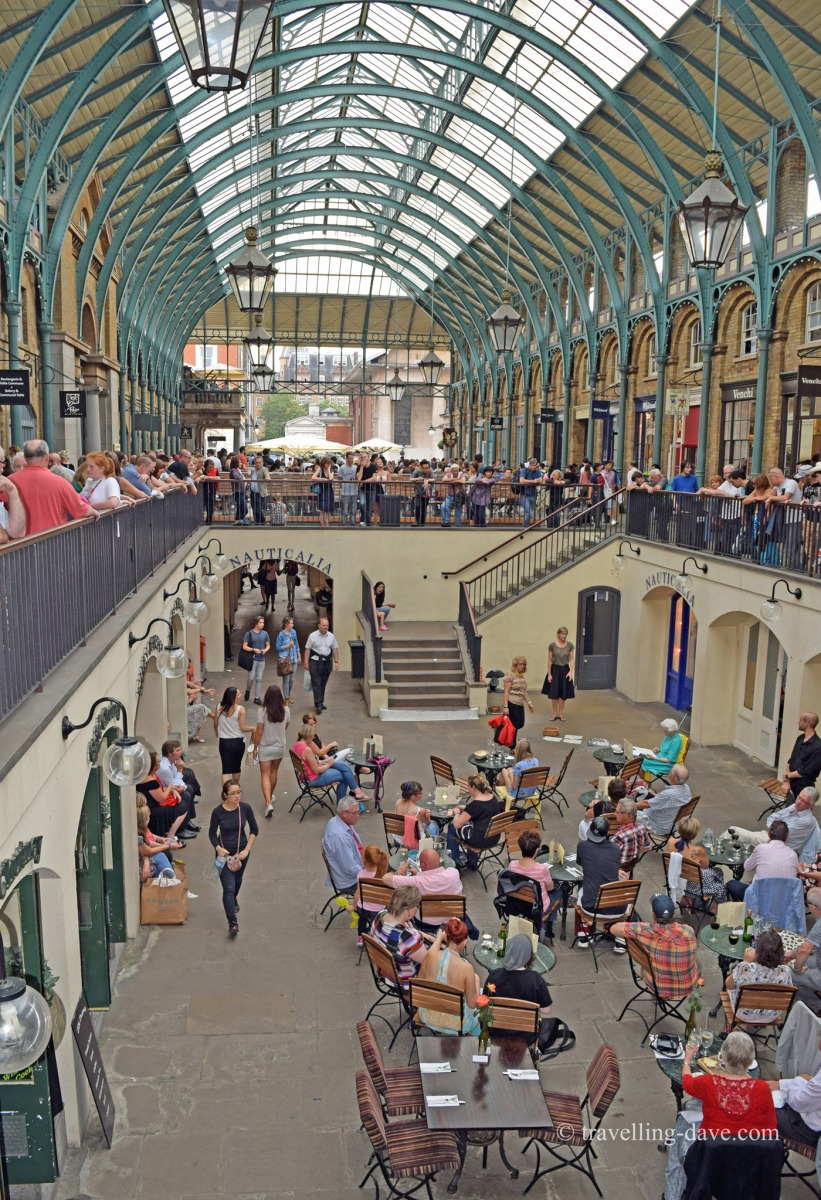 View of London's Covent Garden