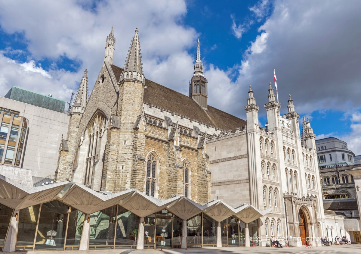 View of London's Guildhall