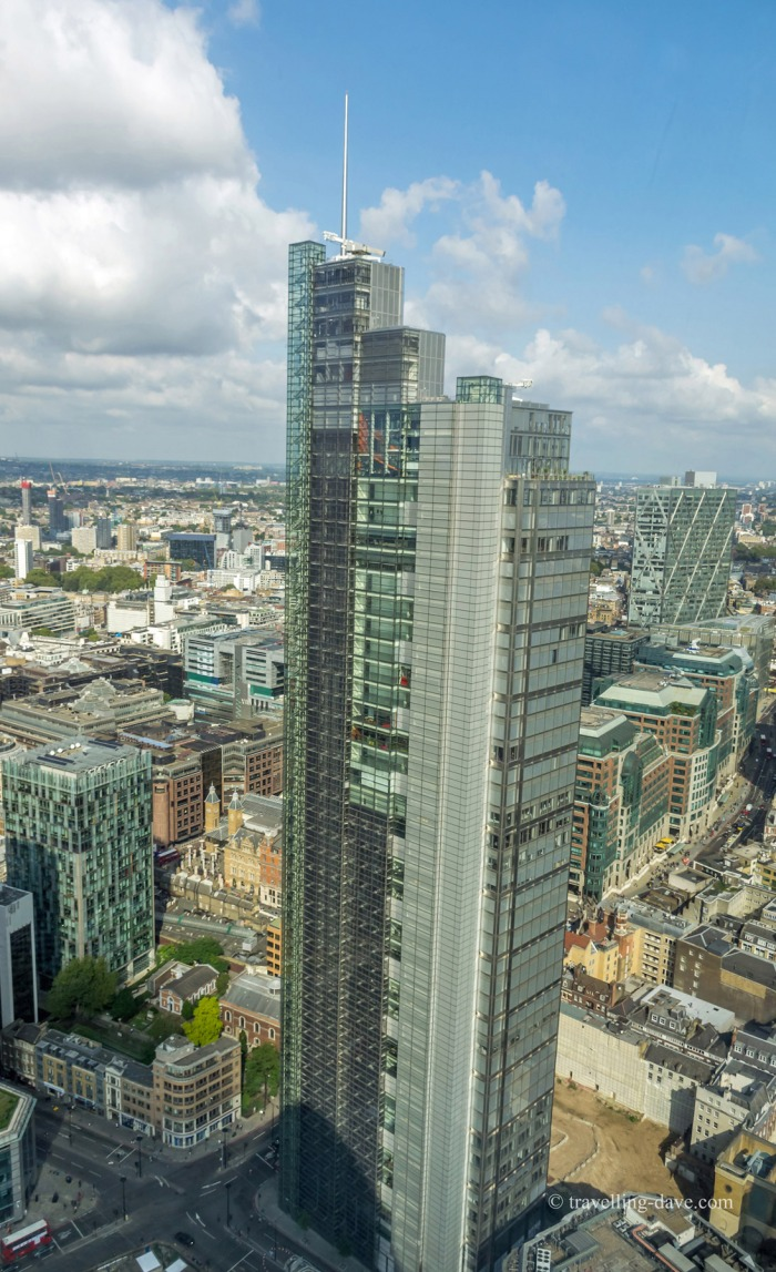 View of London's Heron Tower