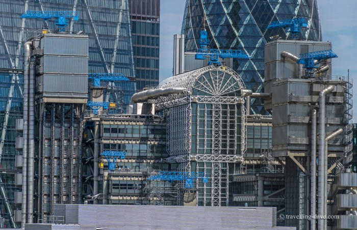 View of London's Lloyd's Building