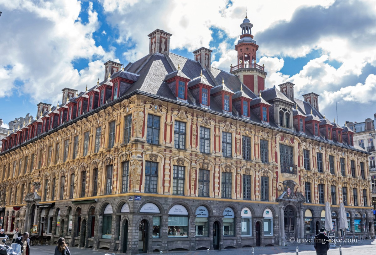View of Lille's Old Stock Exchange
