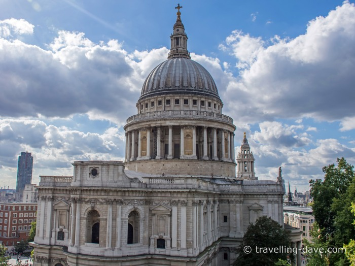 View of St.Paul's Cathedral