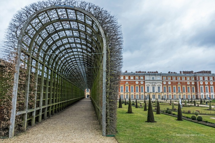 View of Hampton Court Pergola