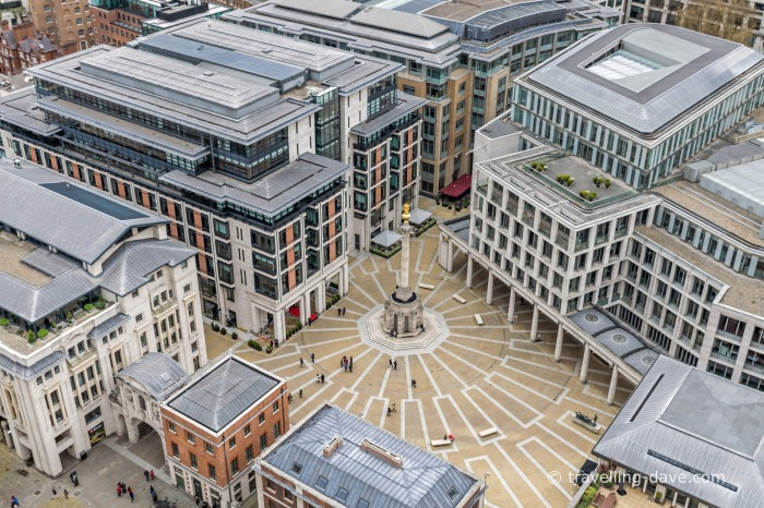 View of London's Paternoster Square