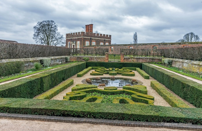 View of Hampton Court's Pond Gardens