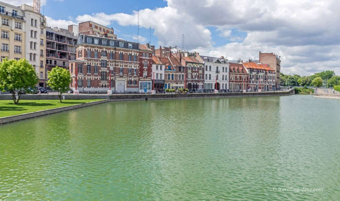 View of Lille's Quai de Wault