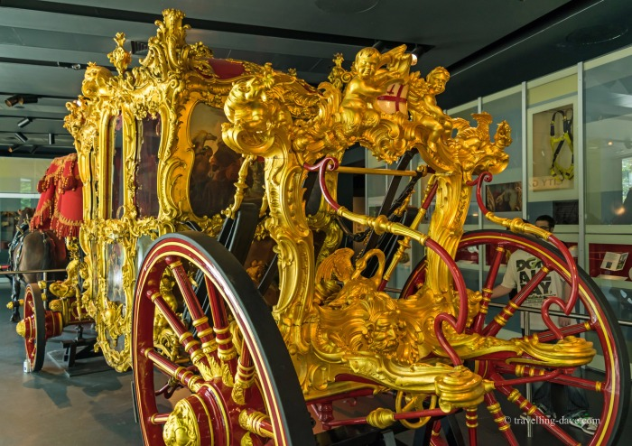 View of the Lord Mayor State Coach