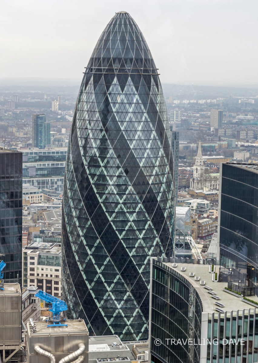 View of 30 St.Mary Axe building