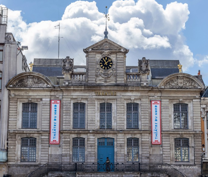 View of Lille's Theatre du Nord